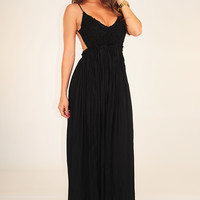 Wherever Love Goes Dress: Black