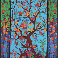 3D - Tree of Life - Multi-Color - Tapestry