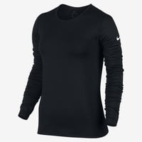 The Nike Pro Warm Women's Long Sleeve Training Top.