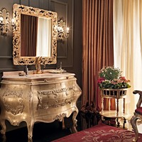 Single vanity unit with drawers 11647 Villa Venezia Collection by Modenese Gastone group