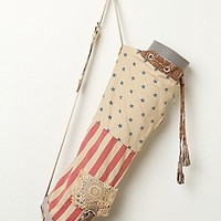 Floral Flag Yoga Bag