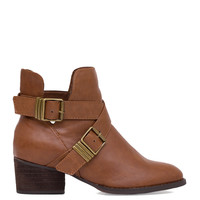 Clementine Ankle Boots - Tan