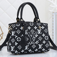 Louis Vuitton LV Women Leather Tote Satchel Shoulder Bag Handbag