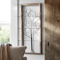 FRAMED WIRE TREE