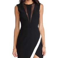Finders Keepers Coming Home Sleeveless Dress in Black