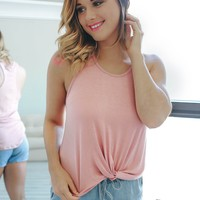 Knot A Chance Tank - Coral