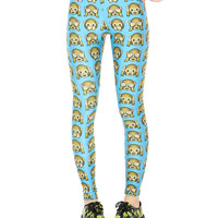 EMOJI MONKEY LEGGINGS