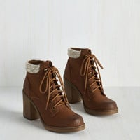 Rave Reviewer Bootie in Cognac
