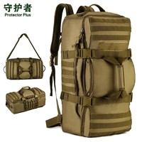 60L  Large capacity luggage  backpack &  handbags  multi-function Outdoor Tactical Rucksack men's bags A3136