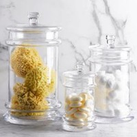 Glass Apothecary Canister   Countertop   Restoration Hardware