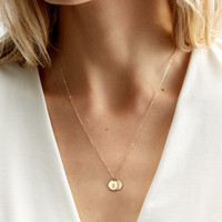 Lor Initial Necklace