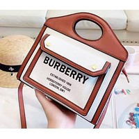 Burberry Women's Fashion New Casual Shoulder Crossbody Tote