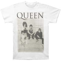 Queen Men's  Stairs T-shirt White