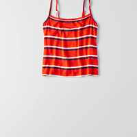 Don't Ask Why Cropped Cami Tank, Rust