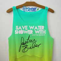 Save Water and Shower With Justin   fresh-tops.com