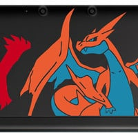 Mega Charizard Y 3DS or 3DS XL Tri-Color Decal