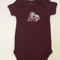 NCAA Licensed Mississippi State Onesuit Creeper Crawler