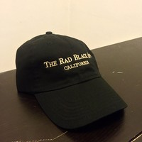 Rad Black Dad Hat