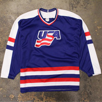 Team USA CCM Hockey Jersey Blue (XL)