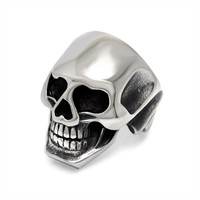 Gift Stylish Shiny Jewelry New Arrival Club Creative Skull Ring [6542648835]