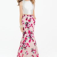 Floral Two-Piece Dress from Camille La Vie and Group USA