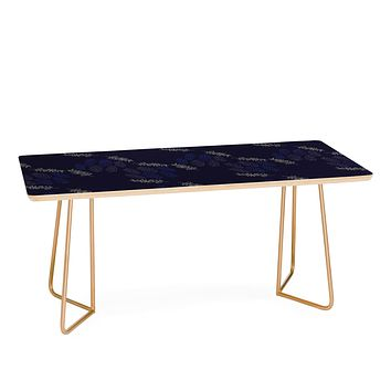 Morgan Kendall blue winter Coffee Table