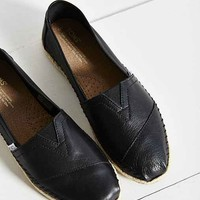 TOMS Leather Espadrille-