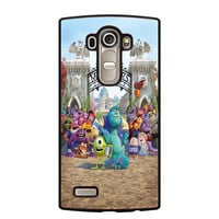 Monster Inc 2 LG G4 Case