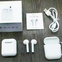 i9S-TWS New fashion headset listen to music and answer the phone sports wireless headset White
