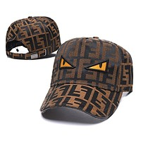 Fendi Fashion Snapbacks Cap Women Men Fendi Sports Sun Hat Baseball Cap Q_1481979175