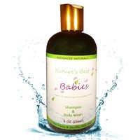 Organic Baby Shampoo & Body Wash - Gentle Tear Free - 3 IN 1 bath & wash