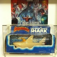 MEGO  AQUAMAN vs. THE GREAT WHITE SHARK! ONE OF THE MEGO HOLY GRAILS! (RARE)