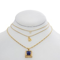 Sapphire Skies Necklace