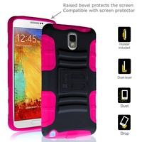 Fintie Samsung Galaxy Note 3 Guardian Series Case Dual Layer Holster with Kickstand and Belt Swivel Clip for Samsung Galaxy Note 3 III N9000 - Black