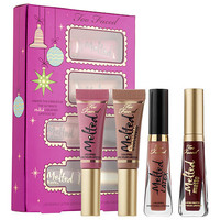Under The Kissletoe The Ultimate Liquified Lipstick Set - Too Faced | Sephora