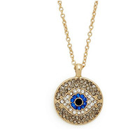 Gold Diamond Evil Eye Necklace, Diamonds Decorations, Personalized Bridesmaids Jewelries, Trending Accessories, Friendship Graduation Gifts