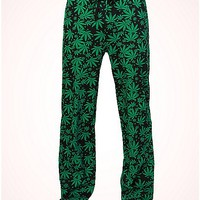 Leaf Knit Sleep Pant - Spencer's