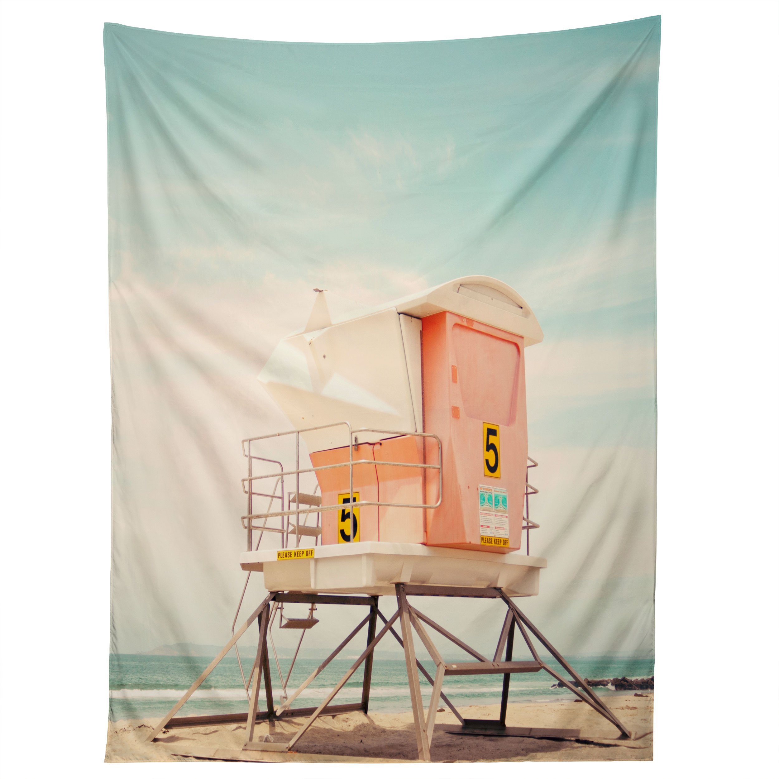 Image of Bree Madden Beach Tower 5 Tapestry