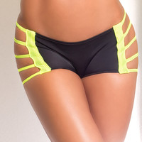 Vertical Vixen Dangerous Bridge Scrunch Workout Shorts