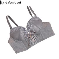 Female Underwear small breast Push Up Bra minimizer deep vs thick Padded brassiere lace bras for women push up bra
