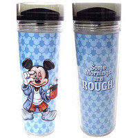 disney parks mickey mouse some mornings are rough travel cup mug new