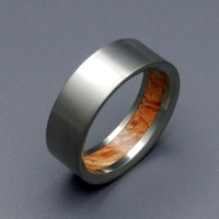 Humble Majesty Brown Box Elder - Wooden Wedding Rings