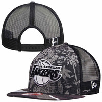 Los Angeles Lakers New Era Tropical 9FIFTY Hat - Camo