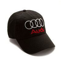 """Club Foreign Logo Hat """"Rings"""" - Black"""