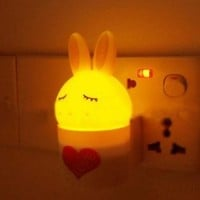 Love Rabbit LED Night Lights Control Automatic Emergency Lights Wall Lamps