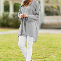 Perfect For Pairing Tunic, Black