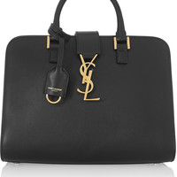 Saint Laurent - Monogramme Cabas small leather tote