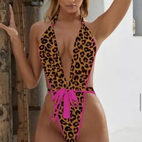 St Lucia (Pink/Leopard)