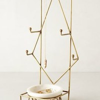 Radial Jewelry Stand by Anthropologie in Bronze Size: One Size Bath