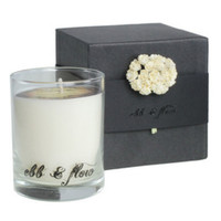 EBB & FLOW SOY CANDLE, AMBER GRIS